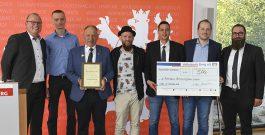 Die Steinhauergilde erhielt der Ehrenpreis der SPD